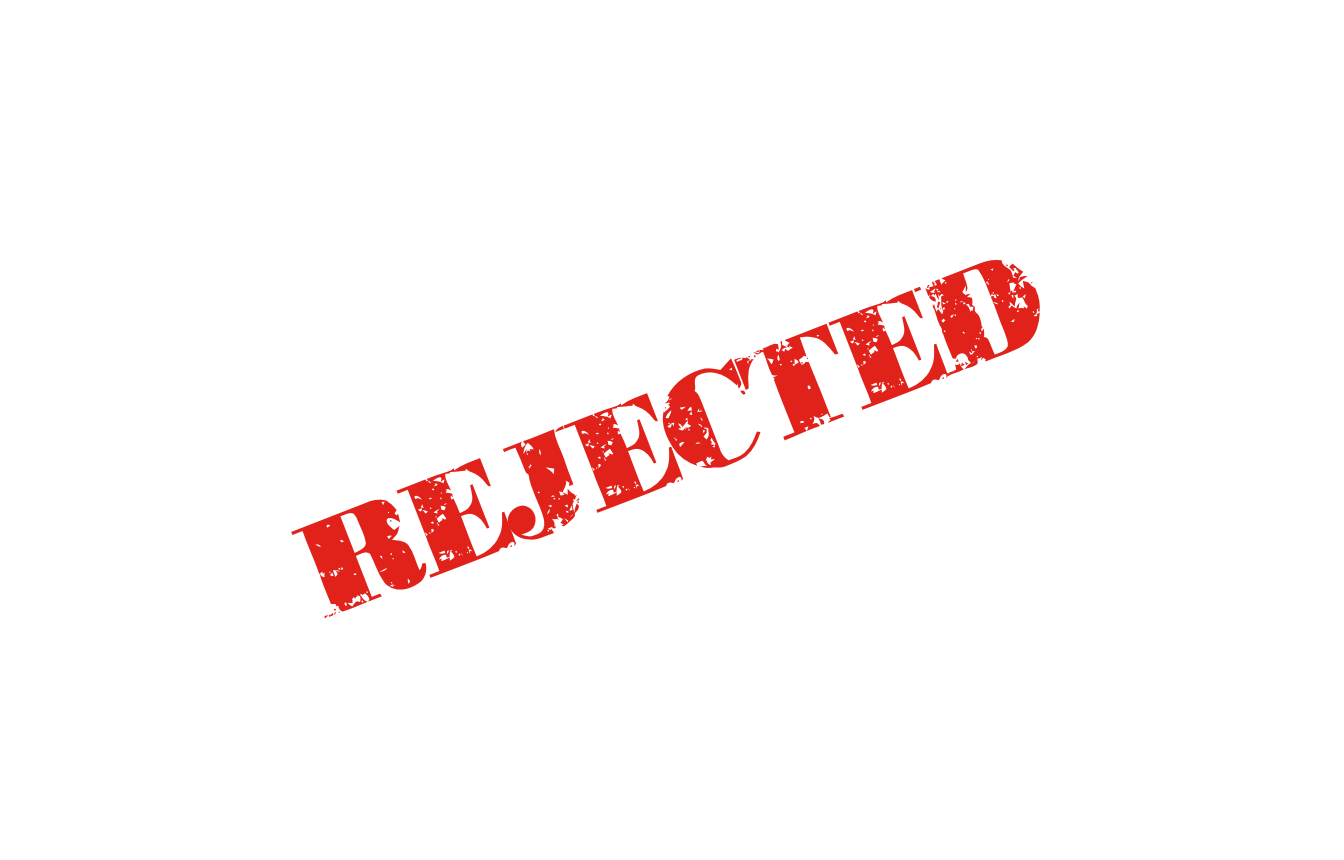 Rejected! – Another Red Letter Day
